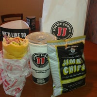 Photo taken at Jimmy John's by Christian B. on 4/11/2013