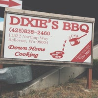 Photo taken at Dixie's BBQ by Andy G. on 6/28/2014