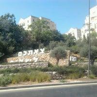 Photo taken at Road NO. 1 Jerusalem-Tel Aviv by Haim L. on 9/13/2013