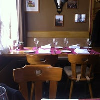 Photo taken at Restaurant Hotel Rössli by Nida . on 2/24/2013