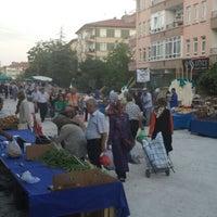 Photo taken at Salı Pazarı by Elif Tunca Y. on 6/25/2013