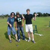 Photo taken at lakowe lakes golfcourt by Christoph V. on 6/23/2013