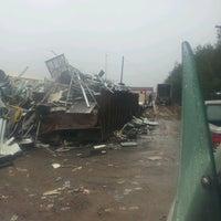 Photo taken at Queen City Metals Scrap Yard by Nicholas K. on 4/11/2013