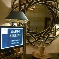 Photo taken at Waldorf Astoria Jeddah - Qasr Al Sharq by Anas S. on 3/10/2013