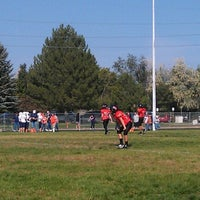 Photo taken at Erie Middle School by Allison S. on 9/22/2012