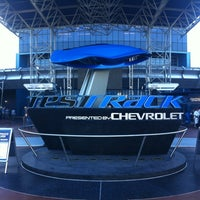 Photo taken at Test Track Presented by Chevrolet by Banks L. on 12/4/2012