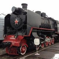 Снимок сделан в Центральный музей Октябрьской железной дороги пользователем Сергей С. 11/2/2012