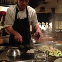 Photo taken at Kiku Japenese Steak House by Cat M. on 10/6/2012