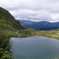 Photo taken at Озеро Ворожеська by Алина Р. on 8/15/2014