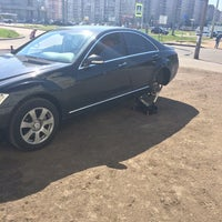 Photo taken at Шиномонтаж 24 часа by Vladka on 5/22/2014