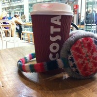 Photo taken at Costa Coffee by Patricia E. on 1/12/2013