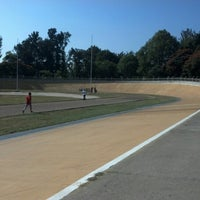 Photo taken at Velódromo Panamericano by Ismael M. on 10/12/2012