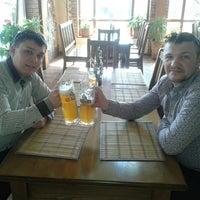 Photo taken at Пивоварня «Генрих Шульц» / Brewery «H. Schulz» by Roman Kesarchuk on 4/13/2015