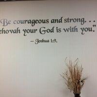 Photo taken at Dunkirk Kingdom Hall by Leora K. on 8/11/2013