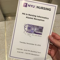 Photo taken at NYU College of Nursing, Dentistry, and Bioengineering Institute by Mark S. on 11/11/2015