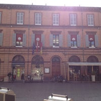 Photo taken at Piazza Andrea Costa by Ermanno C. on 3/4/2013