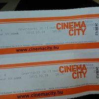 Photo taken at Cinema City by Eszter T. on 10/14/2013