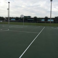photo taken at usf outdoor basketball courts by rusty s on 102