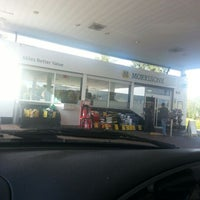 Photo taken at Morrisons Petrol Station by Emma W. on 10/13/2012
