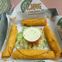 Photo taken at Lime Fresh Grill by William R. on 10/20/2012