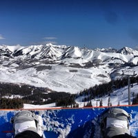 Photo taken at Paradise Bowl, Mt. Crested Butte by Andrew F. on 3/30/2013