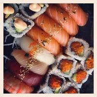 Photo taken at Smak & Sans Sushi by Gunnar K. on 10/18/2012