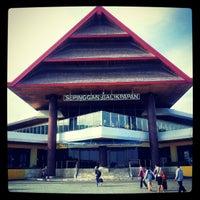 Photo taken at Sultan Aji Muhammad Sulaiman Sepinggan Balikpapan International Airport (BPN) by PriMa A. on 12/15/2012