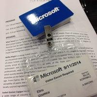 Photo taken at Microsoft Turkey by Ebru on 9/11/2014