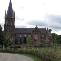 Photo taken at Kerkhof St.Pieter by Chris G. on 9/19/2013