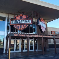 Photo taken at Las Vegas Harley-Davidson by Carl V. on 1/6/2014