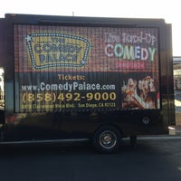 Photo taken at Comedy Palace San Diego by Dan B. on 6/14/2013