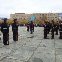 Photo taken at Площадь Ленина by Anastasia A. on 9/27/2012