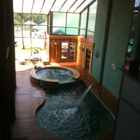 Photo taken at Amerian Portal Del Iguazu Hotel by Kalil on 11/25/2012