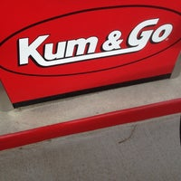 Photo taken at Kum & Go by 🔪 Jason 😈 on 10/20/2012