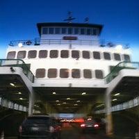 Photo taken at Edmonds Ferry Terminal by Michelle K. on 1/13/2013