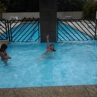 Photo taken at PISCINA DO PRÉDIO by Gisleine F. on 12/20/2012