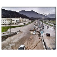 Photo taken at khorfakkan by Meshal A. on 4/30/2013