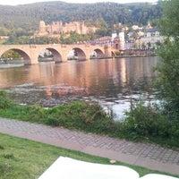 Photo taken at Alte Brücke by Ömer O. on 9/15/2012