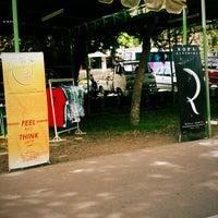 Photo taken at Parkir Timur Lapangan Niti Mandala Renon by Luh Ketut S. on 6/21/2013