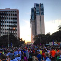 Photo taken at San Antonio Rock N Roll Marathon by Dave J. on 11/11/2012