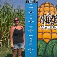 Photo taken at Maize Adventure by Kristine I. on 9/22/2012