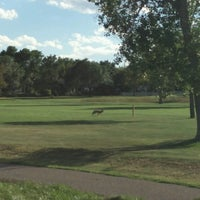 Photo taken at Aurora Hills Golf Course by Zachary on 9/5/2016