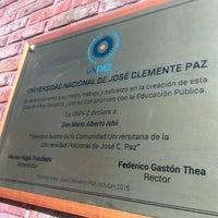 Photo taken at Universidad Nacional de José C. Paz by Lucas E. on 8/11/2016