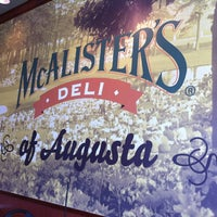 Photo taken at McAlister's Deli by Christine K. on 10/18/2012