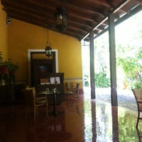 Photo taken at Hacienda Santa Rosa, a Luxury Collection Hotel, Santa Rosa by Flups on 9/25/2013