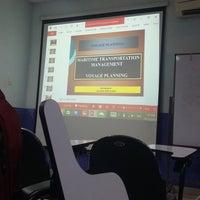 Photo taken at Sekolah Tinggi Ilmu Pelayaran (STIP) Marunda by Marwan M. on 10/12/2016
