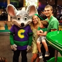 Photo taken at Chuck E. Cheese's by Jennifer T. on 6/21/2014
