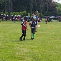 Photo taken at MHC Hurling Pitch by Christianne G. on 6/8/2014