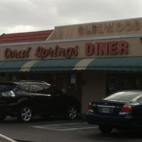 Photo taken at Coral Springs Diner by Stephen E. on 12/31/2012