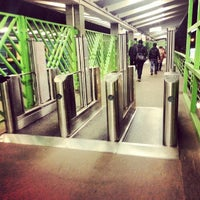 Photo taken at metro Vykhino by Бодрый М. on 10/7/2013